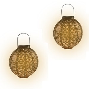 Outdoor Waterproof LED Solar Lantern Decorative Jar with Warm White F5 straw hat lamp Lanterns String Lights 10-Inch Light Up Your Patio Deck Yard Garden or Porch