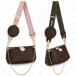 Women Bag Designers Original Box Crossbody Bags Date code Handbag multi Purse clutch shoulder Coin messenger three item