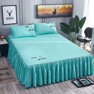 Sheets & Sets 3PCS Set Home Brand Bed Textile Bedding Flat Sheet Flower Sheet+ Covers Soft Warm Bedsheets