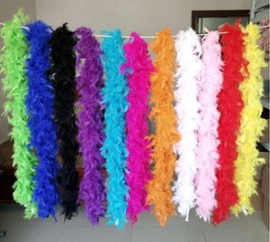 Other Event Party Supplies Turkey Large Chandelle Marabou Feather Boa Wedding Ceremony Boas White Pink Orange Yellow Red Green Iil4C C8Qhl