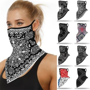 Fashion Print Face Mask Scarf Mascarilla Outdoor Ski Windproof Seamless Face Cover Sports Scarf Neck Hiking Scarves Tube Mask 668 Z2