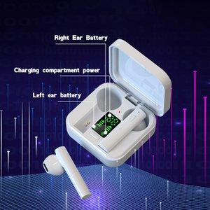 Upgraded version Air6 PLUS PRO Wireless Mini Button Bluetooth Earphones Headphones HiFi Sound Binaural Call Earpieces Sport HeadPHONE