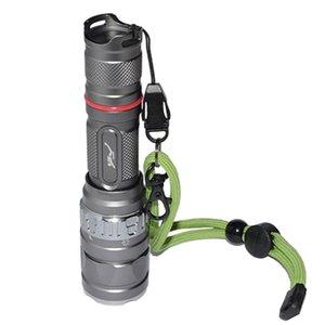 18650 LED 방수 2000 루멘 50 미터 수중 다이빙 토치 캠핑 하이킹 라이트 램프 손전등 토치