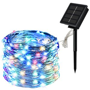 Solar led Fairy light String Lamps 10M 20M Waterproof Strings Lighting For Garden decoration Outdoor DIY Christmas