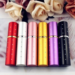 100pcs lot Top Quality Portable Refillable Perfume Bottles 10ml Spray Empty Parfum Atomizers DHL Storage & Jars