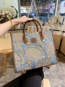 Shopping Bag Single Shoulder Slope Messenger Backpack Briefcase Computer Beach Bags Purses Handbags Women Totes Print Cartoon Handbag