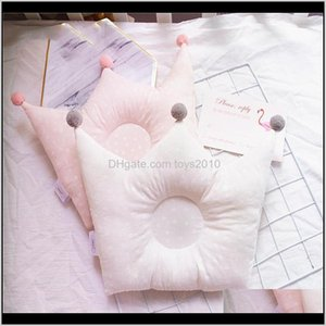 Nursery Baby, Kids & Maternity Drop Delivery 2021 Baby Shaping Pillow Prevent Flat Head Infants Crown Dot Bedding Pillows Born Boy Girl Room