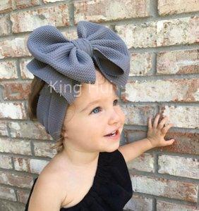 Baby Headwrap Turban Headband Girl Headbands Big Bow Knot Bandeau Fille Hair Accessories Diademas Para