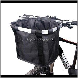 Baskets Bicycle Basket Handlebar Pannier Cycling Carryings Holder Bike Riding Pouch Cycle Biking Front Baggage Bag 30Kg Load Ulp4J Blmcu