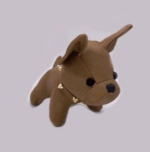 Мода брелок дизайнерской ключей Пряжка кошелька кулон сумки собаки дизайн роскошные кукла цепи ключ пряжки 7 цветов высокое качество с коробкой опционально