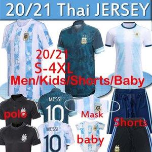 20 21 Argentine Rétro Soccer Jersey Maradona 86 Vintage Classique 1978 Rétro Argentine 78 Chemises de football Maillot Camisetas de futbol Thaïlande