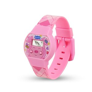 Korean boys girls electronic children's cartoon watch candy play small gifts can be OEM
