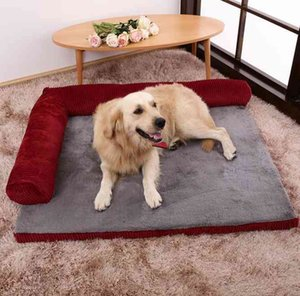 Large Dog Bed Sofa Dog Cat Pet Cushion For Big Dogs Washable Nest Cat Teddy Puppy Mat Kennel Square Pillow Pet House