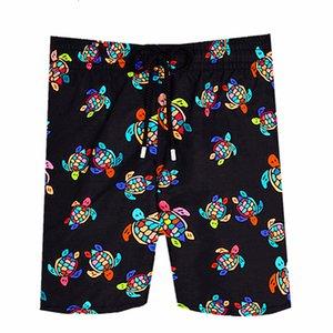 Octopus Beach Vilebrequin Mens French Brand Trunks 003 Starfish Turtle Printing Bermuda Swimwear Male Board Shorts Quick Drying