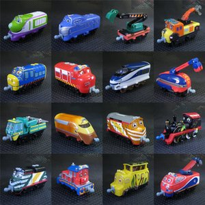chuggington trains toys 19 kinds Original Railway New Tractor toy Train metal engine Toy vehicle scale Diecast Metal Toy Car Y200109
