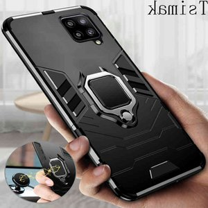 Armor Case for Galaxy S21 Plus S20 FE A12 A22 A32 A42 A52 A72 A82 A51 A71 A01 A02 A02S M12 M62 F52 F62 4G 5G Phone Cover