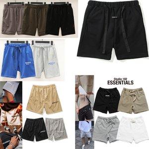 Туман страх божьей мужские шорты 2021 повседневные основные буквы печатные штаны с сыпучими петлями Хип-хоп женские лето