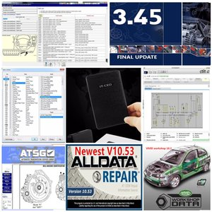 2021 جودة عالية Alldata 10.53 و OD5 Soft-Ware Autodata 3.38 + جميع البيانات + MIT 2015 + EL ... في + Vivid + ATSG 24 في 1TB HDD USB3.0