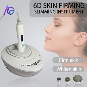 Latest Mi-ni 6D RF Skin Firming Slimming Instrument Face Lifting Beauty Machine for eyes face and body OEM ODM