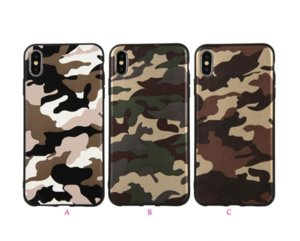 Camouflage Soft TPU Cases For Samsung Galaxy A10 A30 A40 A50 A70 LG V30 Military Silicone Rubber Fashion Luxury Cell Phone Cover