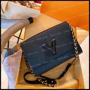 19ss Handbag Women Luxurys Designers Shoulder Bags 2021 TWIST Womens Handbags Purses Wallet Fashion Crossbody Pochette Totes Bag nice