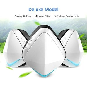 Smart face mask HH01 portable mini air purifier with filter PM2.5-proof Masking Beautiful and high quality