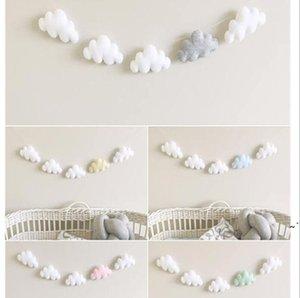 Nuvole Appeso Drop Pendant Decor Baby Room Decoration Decorazione Nordica Parete Appeso Ornamento per la fotografia Puntelli domestici Sala per la casa Adornment OWC7003