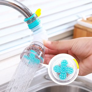 Kitchen 360 Degree Rotatable Activated Carbon Faucet Filter Splash-Proof Household Durable Water Tap Nozzle Purifier Multi-layer ZXFTL0954