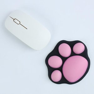 Mouse Pads & Wrist Rests Cute Cat Claw Small Pad Lovely Mat Support Comfort Laptop Silicone Mice