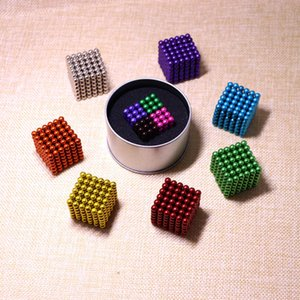 Образовательные игрушки красочные волшебные бак 5 мм216 магнитный шар декомпрессионный творческий DIY подарок