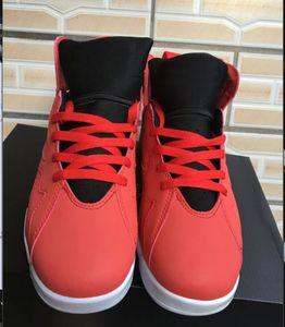 Neue Ankunft 7 Fadeaway Kinder Basketballschuhe 7s UNC Pure Money Universität Rote Jungen Mädchen Sport Sneaker