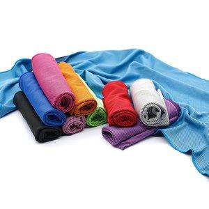 Verano de enfriamiento del artefacto de frío toalla de frío logo impresión deportes al aire libre secado rápido