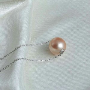 20pcs Freshwater Edison Pearl 9-11mm Dyed Color Big Round Pearl and 2 Floating Edison Necklaces
