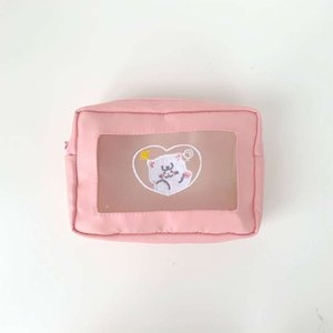 y bolsa de maquillaje de dibujos animados para las mujeres Waterdichte PU TAS MakeUp Brush orgak8l2
