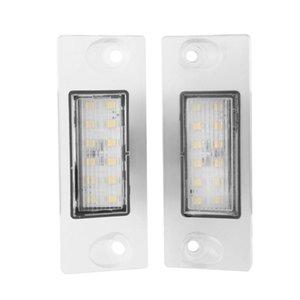 رقم سيارة لوحة رخصة أضواء مصباح ل A4 B5 95-01 S5 A3 8L S3 Sportback S4 Avant 95-99 زينون الأبيض أدى ضوء العمل