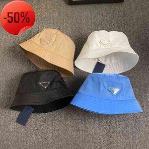 Bucket Hat for Women Fashion Classic Designer Hombres Nylon Cap New Otoño Primavera Pescador Sun Caps Drop Ship