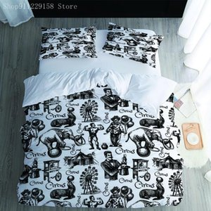 Bedding Sets Child Bedroom Decor Cute Cartoon Animals And People Set Quilt Bedclothes Pillowcase Queen King Size