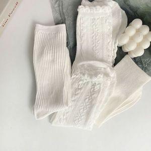 and thin 2021jk summer socks pure cotton spring versatile pile socks women's three pairs 20