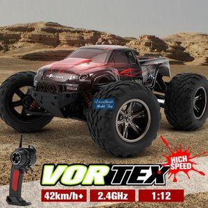 EMT OR4 1/12-2.4G-Fernbedienung 42 km / h Monster-LKW, 4WD Off-Road-Auto, Differentialausrüstung, kühle Drift, 4-Stoßdämpfer, Kinderjungen-Geschenk, 2-1