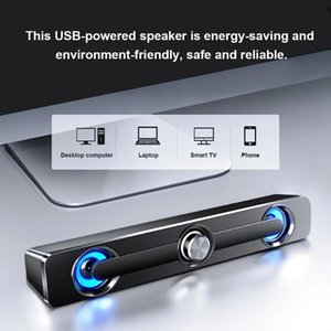 Portable Speakers SADA V-111 Computer Speaker USB Wired Powerful Bar Stereo Subwoofer Bass Surround Sound Box For PC Laptop Phone Tablet M