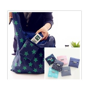 Housekeeping Organization & Garden Drop Delivery 2021 Portable Foldable Shopping 9 Design Large Size Grocery Bag Reusable Home Storage Tote B