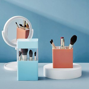 Cosmetic Make-up Brush Storage Box Makeup Nail Polish Holder Make Up Tools Pen Rack Table Organizer Boxes & Bins