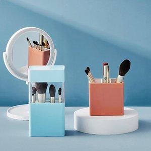 Cosmetic Make-up Brush Storage Box Makeup Nail Polish Holder Make Up Tools Pen Rack Table Organizer Boxes & Bins