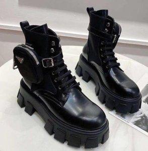 Модный дизайнер взрыв Высокое Качество Мода Черная Пряжка Молния Короткие Ботинки Линки Женские Кожаные Удобные Мартина Сапоги