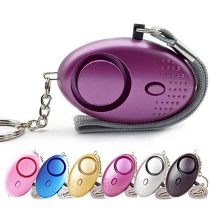 130db Egg Shape Self Defense Alarm Girl Women Security Protect Alert Personal Safety Scream Loud Keychain Alarm