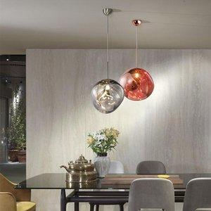 Подвесные светильники Nordic Villa Loft Lava LED освещение Современный дизайн ПВХ огней гостиной ресторан кафе бар декор кухни висит