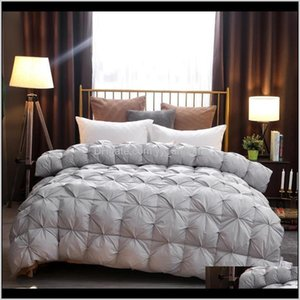 Comforters Sets Songkaum Luxury Down Winter Blanket Quilted Quilts Core White Bed Duvet 150 Comforter 9Ffwe Njewb