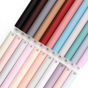 20pcs Waterproof Flower wrapping craft paper Tissue Paper Candy Color Paper Gift Wrapping