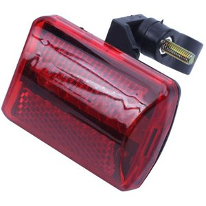 Bicycle Cycling Rear Tail Safety Lights Red Lamp Bike