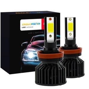 Car Headlights Headlight 40W 8000Lm Super Bright Auto LED Fog Lights H4 H7 H1 H11 9005 9006 Styling Headlamp Bulbs 360° Lighting